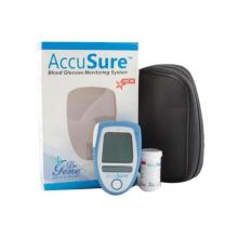 Dr Gene Accusure Blood Sugar Glucometer + 25 Test Strips Free
