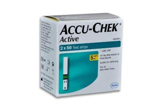 Accu-Check Active 100 Test Strips