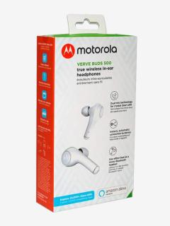 Motorola Verve Buds 500 True Wireless Bluetooth Earbuds with Alexa (White)