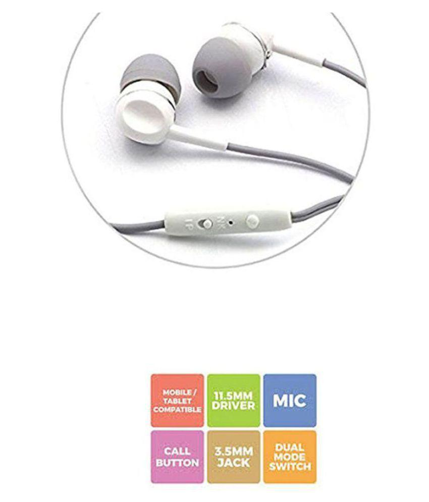 Zebronics ZEB-EM880 In Ear Wired Earphones With Mic