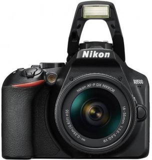 Nikon D3500 DSLR Camera AF-P DX NIKKOR 18-55mm f/3.5-5.6G VR(Black)