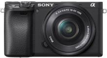 Sony Alpha ILCE-6400L Mirrorless Camera with 16-50mm Power Zoom Lens(Black)