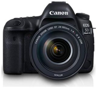 Canon EOS 5D Mark IV Kit (EF 24 - 105 IS II USM) 30-4 MP (Black)