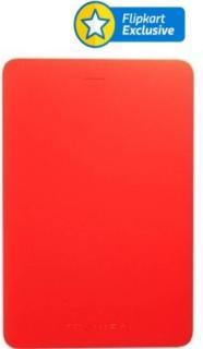 Toshiba Canvio Alumy 2 TB Wired External Hard Disk Drive(Red)