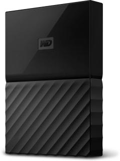 WD My Passport 1 TB Wired External Hard Disk Drive(Black)