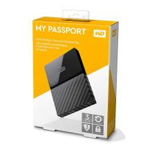 WD My Passport 3TB Portable External Hard Drive (Black)
