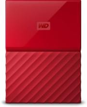 WD My Passport 1 TB Wired External Hard Disk Drive(Red)