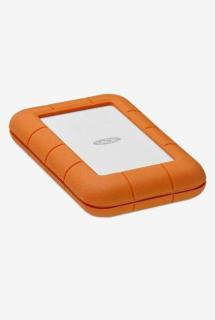 LaCie Rugged Thunderbolt 4 TB External Hard Drive (Orange)