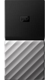 WD My Passport 2 TB Wired External Solid State Drive(Black, Grey)