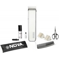 Nova Advanced Skin Friendly Precision NHT 1055 W Trimmer For Men (White)