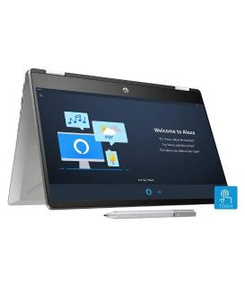 HP Pavilion x360 Core i5 10th Gen 14-inch FHD Touchscreen 2-in-1 Alexa Enabled Laptop (8GB/256GB SSD/Windows 10/MS Office/Inking Pen/FPR/Natural Silver/1.59 kg), 14-dh1010TU