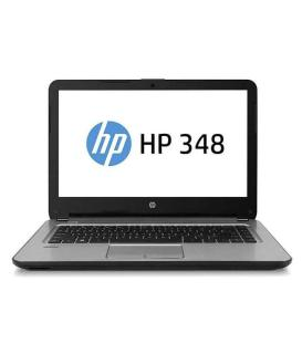 HP 348 G4 Laptop with i3 7th Gen, 4GB Ram and 1TB Drive Dos (Silver)