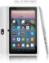 IKALL N7 7 Inch Display Tablet with Keyboard (2-16GB, Wi-fi, Android 6.0 Marshmallow)