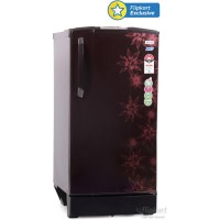 Godrej Muziplay 185 L Single Door Refrigerator (Berry Bloom)