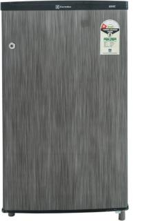 Electrolux 80 L Direct Cool Single Door Refrigerator (ECO90PSH/EC091PSH, Silver Hairline,)