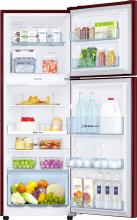 Samsung RT28K3922RZ/HL 253 L Frost Free Double Door Refrigerator Tender Lily Red