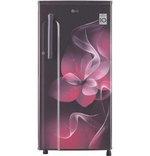 LG 188 L Direct Cool Single Door 3 Star (2020) Refrigerator(Purple Dazzle, GL-B191KPDX