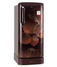 LG 190 Ltr 4 Star GL-D201AHDX Single Door Refrigerator - Brown