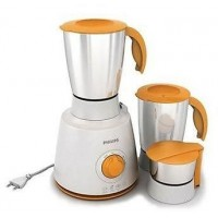 Philips Daily Collection Mixer Grinder HL7610/00 450W 3 jar Orange