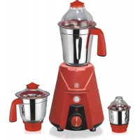 JSM Elite 550 W Mixer Grinder (Red, 3 Jars)