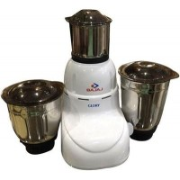 Bajaj Glory 500 W Mixer Grinder (White, 3 Jars)