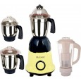 Rotomix Essentials Pro 600 W Mixer Grinder Yellow & Black Front View