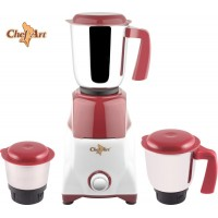 Chef Art Cmg555 Multi Purpose 550 W Mixer Grinder Maroon