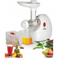 Wama Cold Press Juice Extractor White