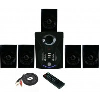 Vsure Vht-5010 5.1 Channel Speakers Black