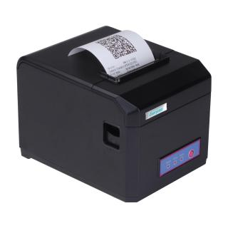 Everycom EC801 80mm 3 Inches Direct Thermal Printer Monochrome Desktop Auto Cutter Receipt Print Black