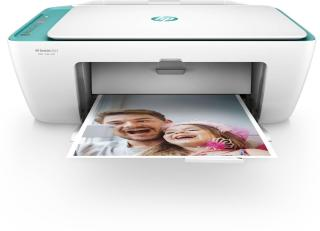 HP 2623 Multi-function Wireless Color Printer(White, Green, Ink Cartridge)