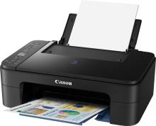 Canon Pixma E3177 Multi-function Wireless Printer(Black, Ink Cartridge)