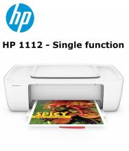 HP DeskJet 1112 Single Function Color Printer (1000 pages print yield) - Connect VIA USB