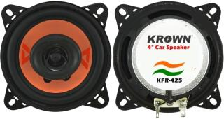 Krown 4 inch 2 Way with inbuilt Tweeter KFR-425 Coaxial Car Speaker(100 W)