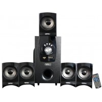 Zebronics SW6690RUCF Wired Home Audio Speaker (Black, 5.1 Channel)